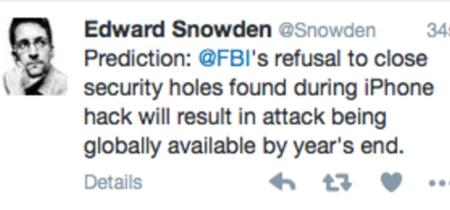 Snowden advierte: el iPhone podría ser víctima de un ataque 'global'