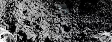 El material previamente no identificado en la Luna es de naturaleza rocosa