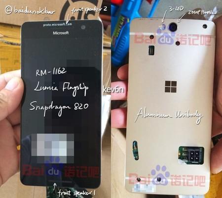 Este es el aspecto que podría haber tenido el Lumia 960, un teléfono que se quedó para siempre con el sello de prototipo