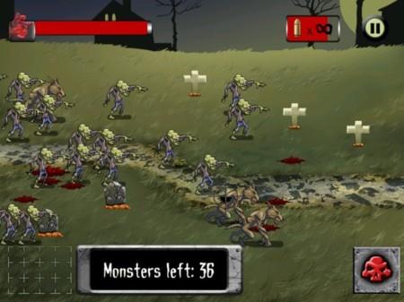 apocamonster zombies demons juego ios