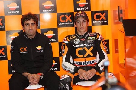 Marc Márquez no estará en MotoGP en el 2012