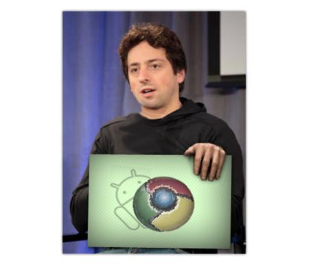 Sergey Brin opina que Android y Chrome OS convergerán