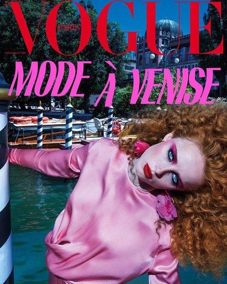 Rianne Van Rompaey en Vogue Paris