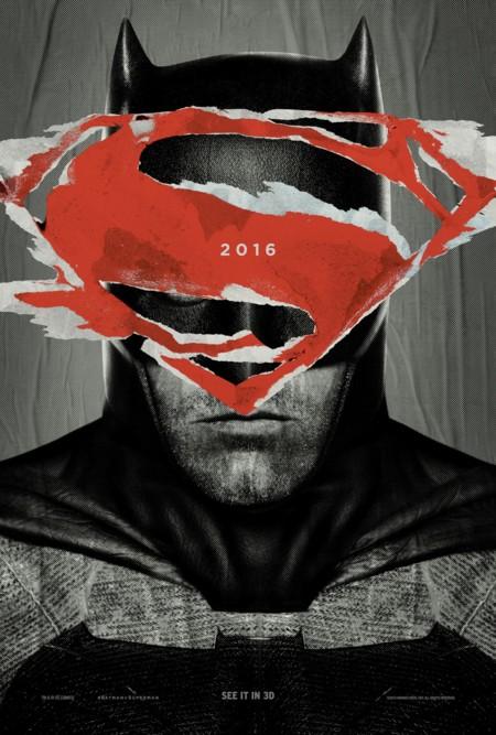 'Batman v Superman: El amanecer de la justicia', carteles