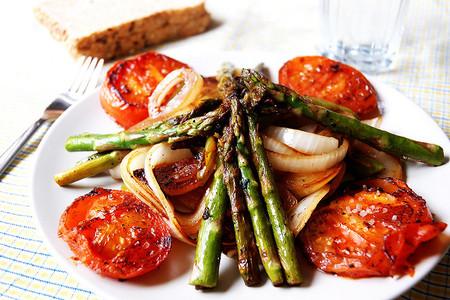 Verduras plancha