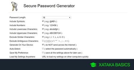 9 generadores de contraseñas online para crear claves aleatorias, fuertes y seguras