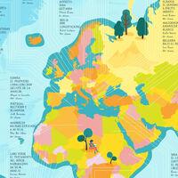 ¿Cuál es el libro más traducido de cada país del mundo? Estos mapas lo exploran en detalle