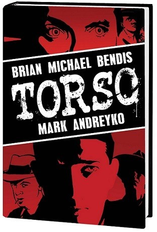Imagen con el cartel del cómic 'Torso'