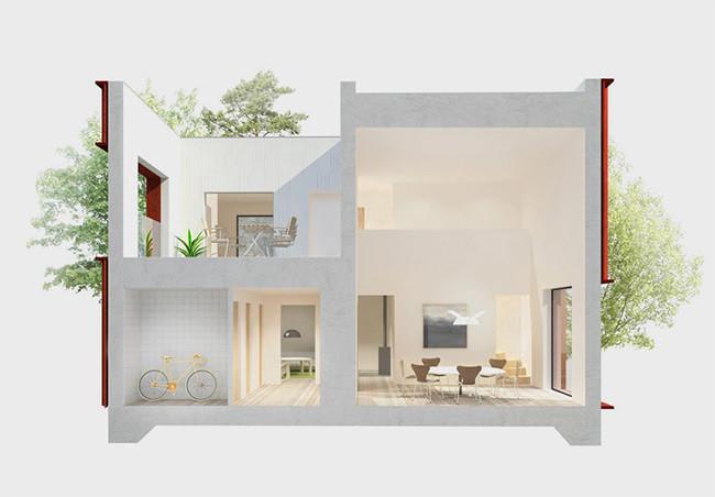 Casa Tipo Suecia 5