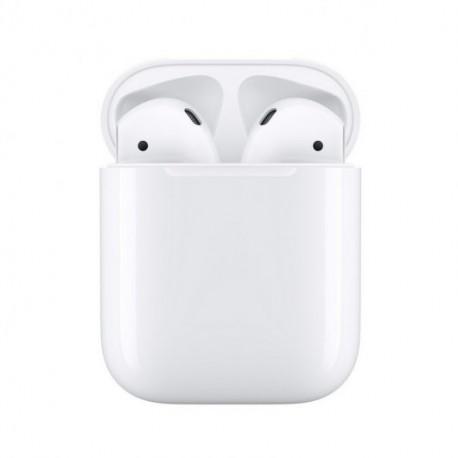 Apple Airpods V2 Auriculares Inalámbricos con Estuche de Carga