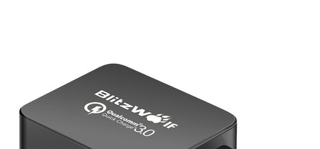 Oferta Flash: cargador BlitzWolf BW-S5, con certificado QC 3.0, por sólo 5,90 euros y envío gratis