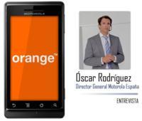Motorola Milestone en exclusiva con Orange, entrevista a Óscar Rodríguez