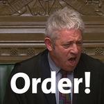 """""""Ordeeeeer!"""": John Bercow y la absurda comedia de los Comunes en plena votación del Brexit"""