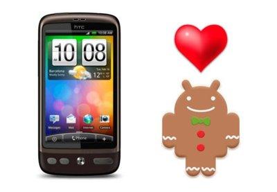 Cinco ROMs para disfrutar de Gingerbread en el HTC Desire