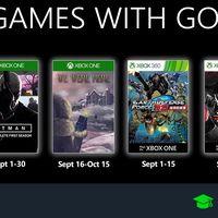 Juegos de Xbox Gold gratis para Xbox One y 360 de septiembre 2019