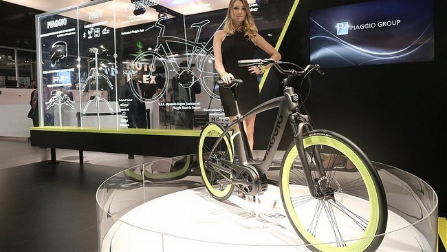 This Is The First Electric Bicycle Piaggio - tinoshare.com