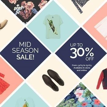 Bershka también se une a las 'Mid Season Sale' con un 30 % de descuento