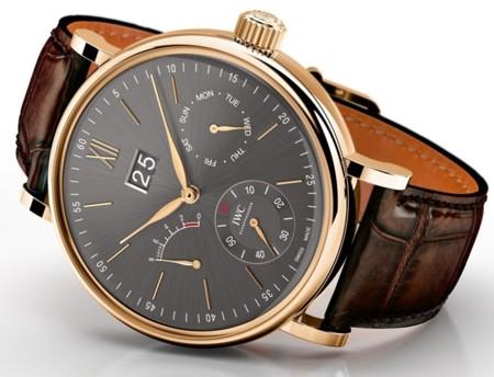 El lujo discreto de un reloj Portofino de IWC