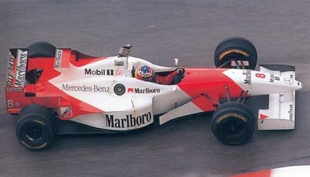 Coulthard Monaco F1 1996