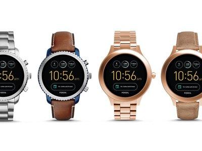 Fossil Q Venture y Q Explorist: dos smartwatches con Android Wear 2.0 por menos de 300 euros