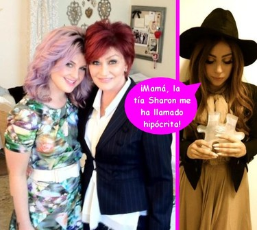 Sharon Osbourne por su hija MA-TA, ¿te enteras, Lady Gaga?