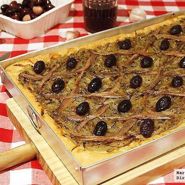 Receta de pissaladière, la deliciosa versión francesa de la pizza italiana