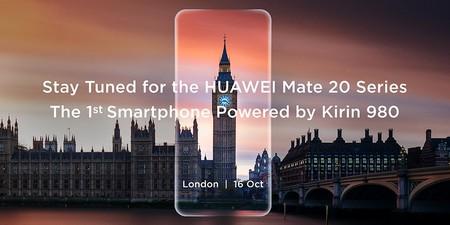 Huawei Mate 20 y Mate 20 Pro serán presentados el 16 de octubre en Londres, esto es lo que sabemos hasta ahora
