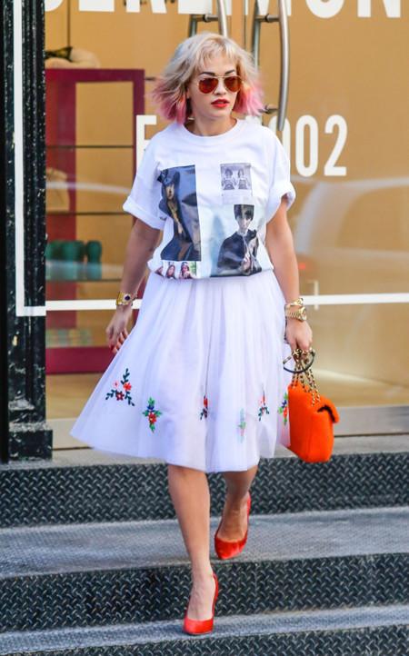 Rita Ora look Halloween