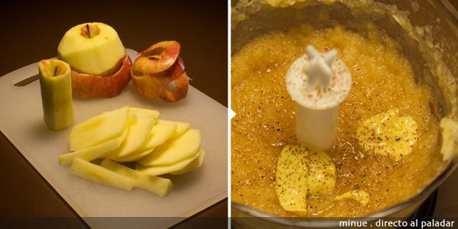 pollo a la manzana - elaboración 1