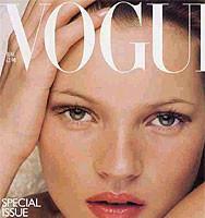 Kate Moss, la supermodelo no es tan super