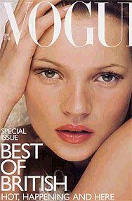 Kate Moss, la supermodelo no es tan super