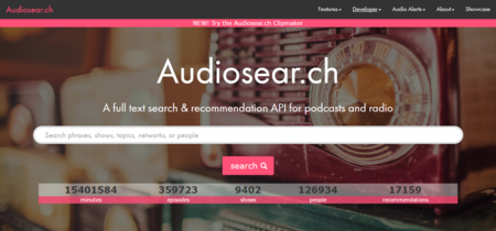 Audiosear.ch, encuentra podcasts y programas de radio según temas concretos