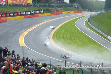 Eau Rouge salida 6 horas Spa-Francorchamps 2012