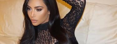 Kim Kardashian reversiona el total look de leopardo en tan solo 24h... y demuestra que puede ser todavía más llamativo