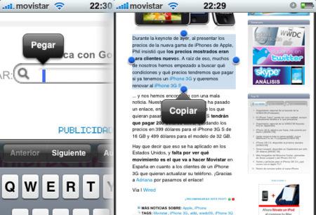 iPhone 3.0. en Applesfera