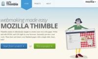 Mozilla lanza Thimble y le da un lavado de cara a la página del proyecto Mozilla Webmaker