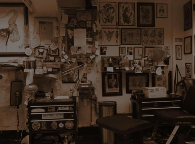 for Vintage tattoo art parlor
