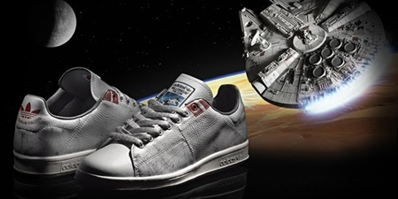 Adidas y Star Wars, la colaboración más espacial de 2010, Halcón Milenario