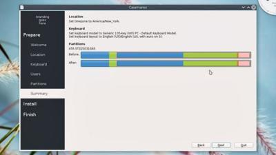 Calamares: un único instalador modular para diferentes distros Linux