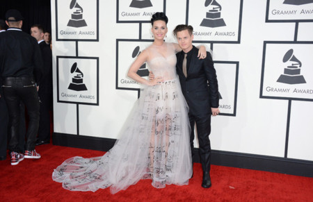 Valentino Katy Perry Grammy 2014