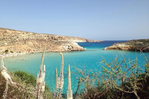 Las nueve playas y calas más espectaculares de Lampedusa