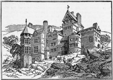 1911 Britannica Architecture Cragside