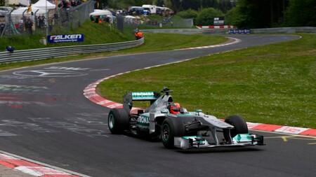 Schumacher Nurburgring F1 2012