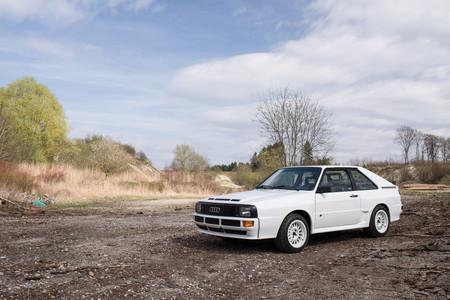 Ya puedes tener uno de los (sólo) 164 Audi Sport quattro que se llegaron a vender a clientes finales