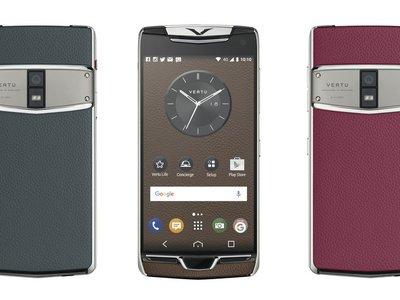 Vertu Constellation, doble-SIM y llamadas cifradas para el smartphone más lujoso de la gama alta Android
