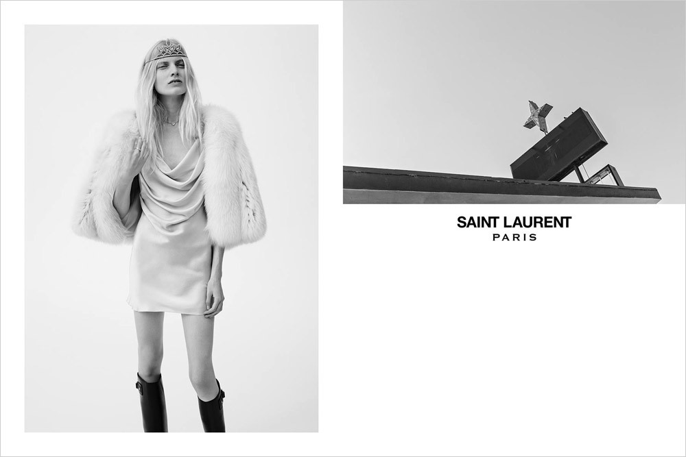 Foto de Saint Laurent campaña Primavera-Verano 2016 (1/5)