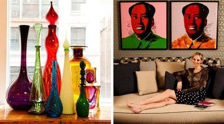 Casas de famosos: el apartamento de Lauren Santo Domingo (ii)