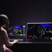 Esta pantalla holográfica permite ver en 3D sin necesidad de gafas y a una bestial resolución 8K