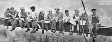 Uno de los 'hombres de la viga' de la famosísima fotografía tomada en el rascacielos Rockefeller Center de Nueva York era vasco