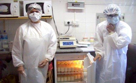 Banco de leche humana en Aragón